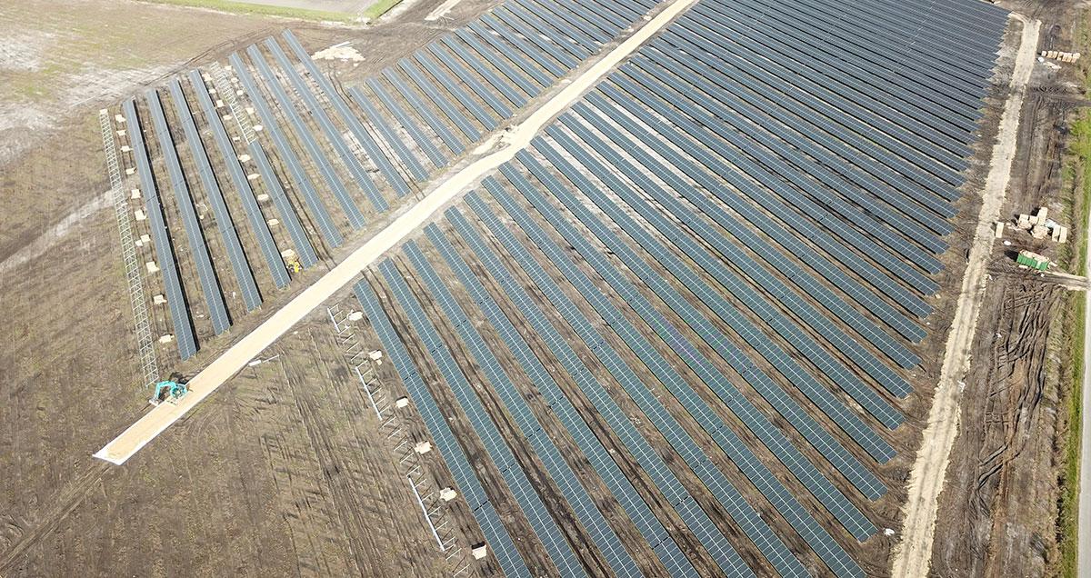 Centrale photovoltaïque Merle Sud à Saint-Magne (33)