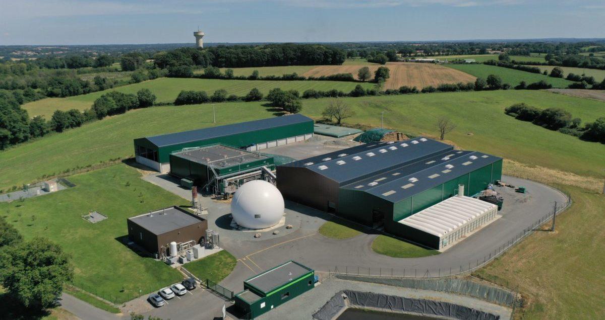 Une unité de méthanisation agricole à Combrand (79)